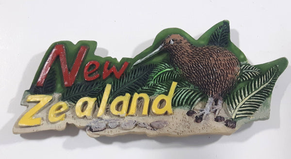 New Zealand Kiwi Bird Resin Fridge Magnet