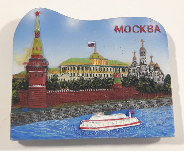 Mockba Moscow Resin Fridge Magnet