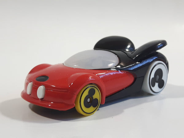 2018 Hot Wheels Disney Character Cars: Series 1 Mickey Mouse Red and Black Die Cast Toy Car Vehicle
