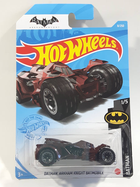 2021 Hot Wheels Batman Arkham Knight Batmobile Die Cast Toy Car Vehicle - New in Package Sealed