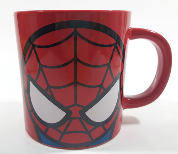 Miniso Marvel Comics Spider-Man Red Ceramic Coffee Mug Cup