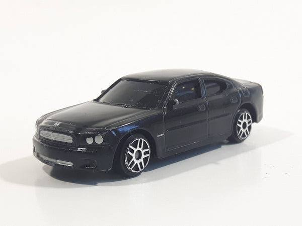 Maisto 2006 Dodge Charger R/T Black Die Cast Toy Car Vehicle