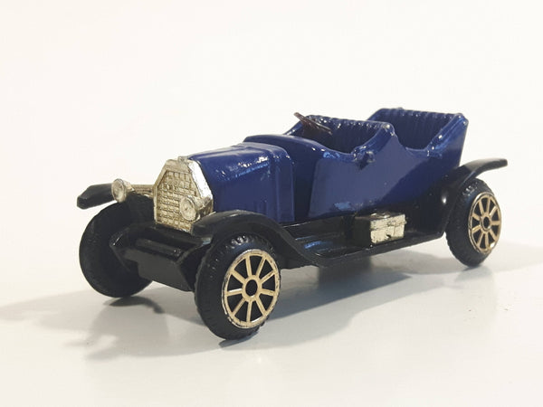 Vintage Reader's Digest High Speed Corgi Buick Dark Blue No. 301 Classic Die Cast Toy Antique Car Vehicle Missing the Canopy