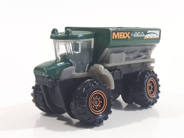 2014 Matchbox MBX Construction FRM 6000 (Sowing Machine) Dump Truck Dark Green and Grey Die Cast Toy Car Vehicle