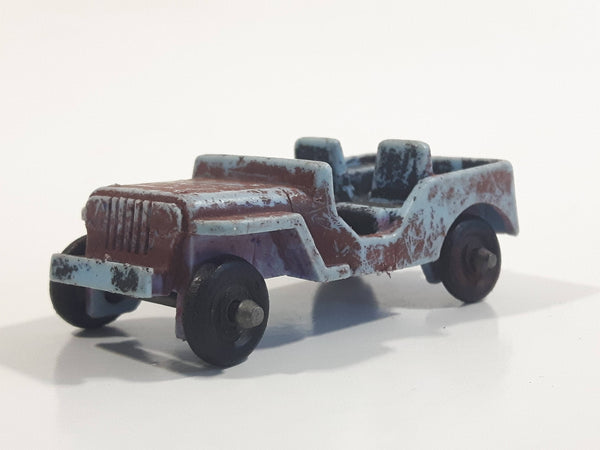 Unknown Brand Jeep Painted Plastic Die Cast Toy Car Vehicle