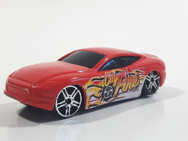 Maisto V7 City Fire Red Die Cast Toy Car Vehicle