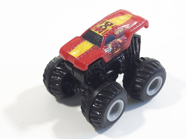 Hot Wheels Monster Jam Monster Max-D Red Miniature Truck Die Cast Toy Car Vehicle