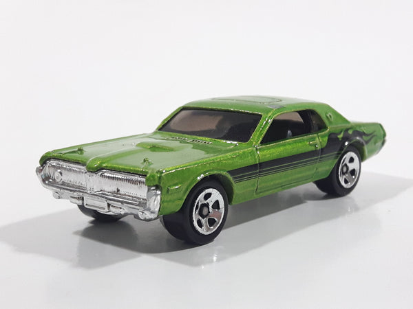 2007 Hot Wheels Code Cars '68 Mercury Cougar Green Die Cast Toy Muscle Car Vehicle