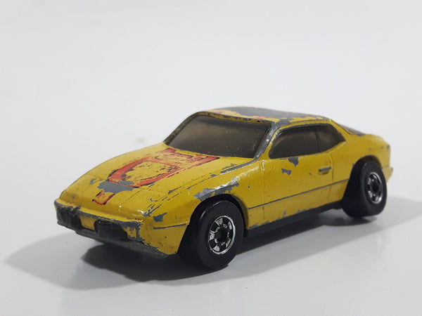Vintage 1979 Hot Wheels Upfront 924 Yellow Die Cast Toy Car Vehicle