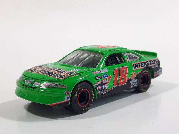 Racing Champions Limited Edition NASCAR #18 Bobby Labonte Interstate Batteries Green Die Cast Toy Race Car Vehicle with Opening Hood