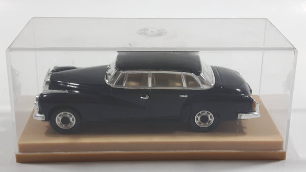 Rio Mercedes Benz Type 300 W 189 1:43 Scale Black Die Cast Toy Car Vehicle In Display Case - Made in Italy