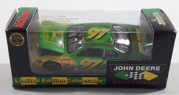 Action Racing NASCAR Winston Cup Limited Edition 1 of 5,000 Chad Little #97 John Deere Die Cast Toy Car Vehicle with Opening Hood New In Box
