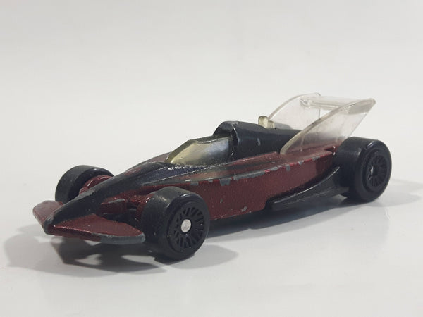 2000 Hot Wheels Champ Car Future Metalflake Dark Red Die Cast Toy Car - McDonald's Happy Meal 20/20