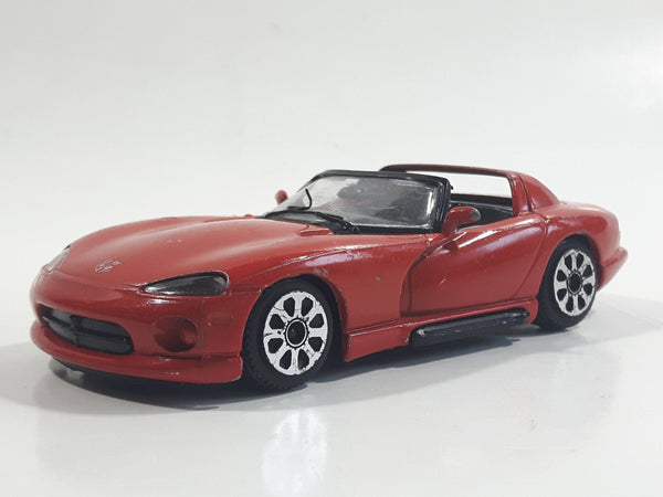 Burago Dodge Viper RT/10 Red 1/43 Scale Die Cast Toy Car Vehicle - Made in Italy