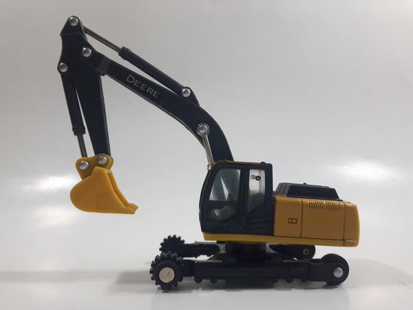 ERTL John Deere 210G LC Excavator Yellow Die Cast Toy Car Construction Vehicle No Tracks