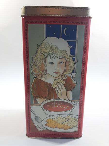 1995 Christie's 60th Anniversary Premium Plus Crackers Tin  - Nabisco Brands