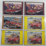 1990 Out Of The West Automobile Travel Themed Paper Post Cards #1048, #1051, #1056