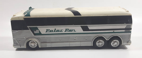 Vintage Jimson No. 220 Peter Pan Bus White Plastic Toy Car Vehicle Coin Bank