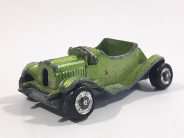 Vintage Zylmex D25 Early T Green Die Cast Toy Car Vehicle