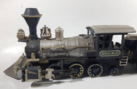 New Bright Great Western Royal Blue 55A Train Engine Locomotive with Coal Car - Smoking Oil Reservoir
