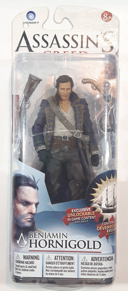 "2013 McFarlane Toys Ubisoft Assassin's Creed Series 1 Benjamin Hornigold "" Tall Action Figure with Accessories New in Package"
