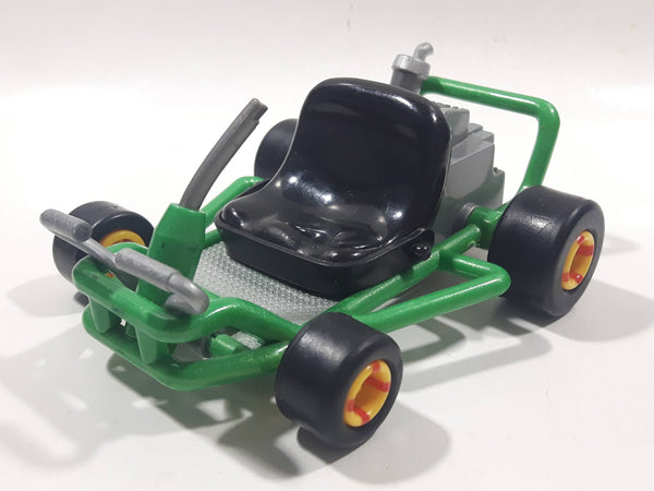 1999 Toy Biz Nintendo Mario Kart Green Go Kart Pullback Toy Car Vehicle