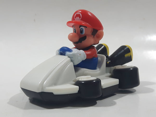 "2014 McDonald's Nintendo Mario Kart Mario Plastic 3"" Long Toy Character Car Vehicle"