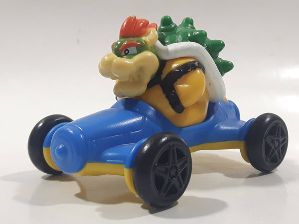 "2014 McDonald's Nintendo Mario Kart Bowser Plastic 3"" Long Toy Character Car Vehicle"