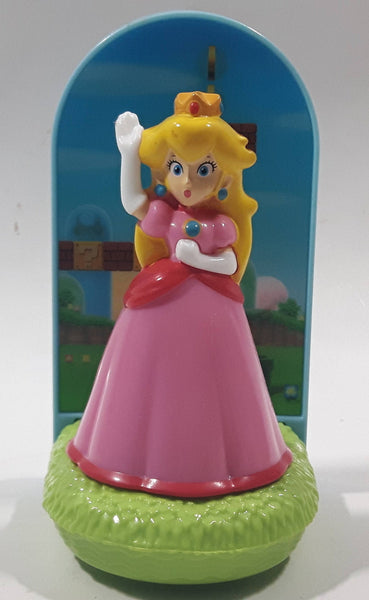 2018 McDonald's Nintendo Super Mario Princess Peach Plastic Toy
