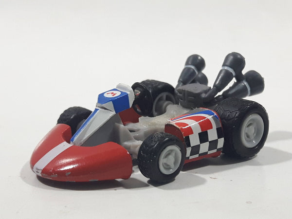 2012 Nintendo Mario Kart Wii Mario Die Cast Toy Car Vehicle - Missing Mario