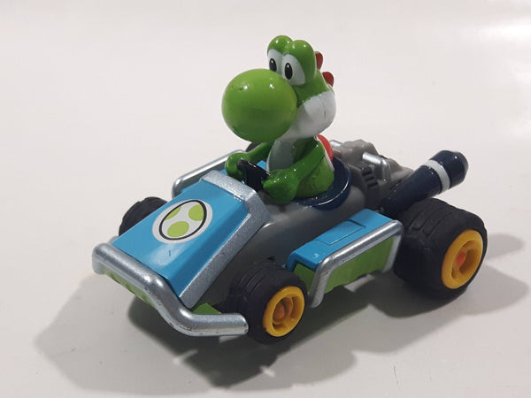 Carrera Go! Nintendo Mario Kart 7 Slot Car Yoshi Die Cast Toy Car Vehicle - Missing One Tab
