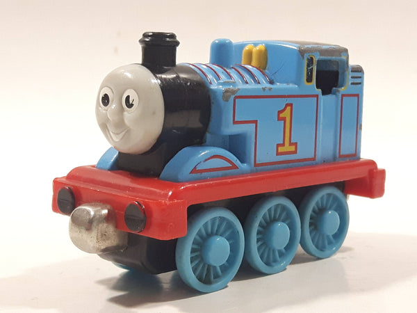 "2002 Learning Curve Thomas & Friends #1 Thomas The Tank Engine 3"" Long Magnetic Die Cast Toy Vehicle"