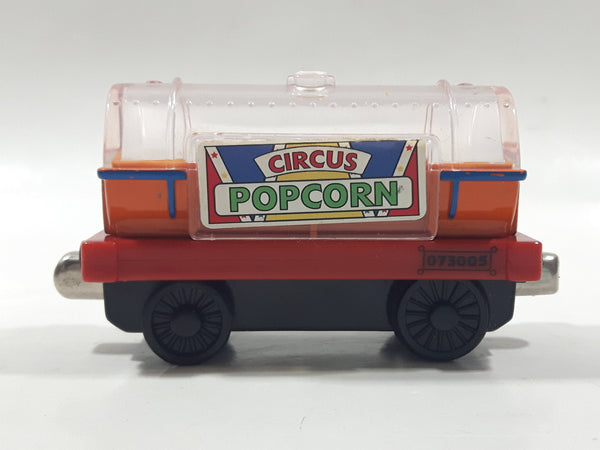 "2006 Learning Curve Thomas & Friends Circus Popcorn Car 3"" Long Magnetic Die Cast Toy Vehicle"