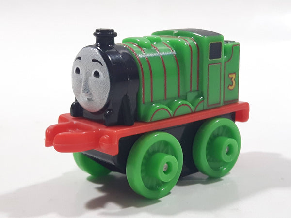 "2014 Thomas & Friends Minis #3 Henry Green 2"" Long Plastic Die Cast Toy Vehicle CGM30"