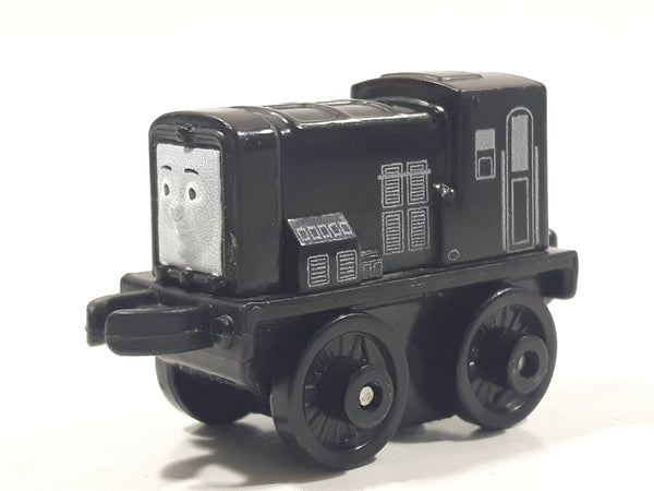 "2014 Thomas & Friends Minis Diesel Black 2"" Long Plastic Die Cast Toy Vehicle CGM30"
