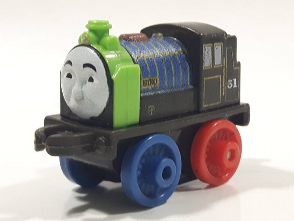 "2014 Thomas & Friends Minis #51 Hiro Black Mixed Colors 2"" Long Plastic Die Cast Toy Vehicle CGM30"