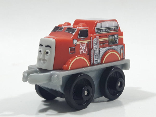 "2014 Thomas & Friends Minis Flynn Red Orange 2"" Long Plastic Die Cast Toy Vehicle CGM30"