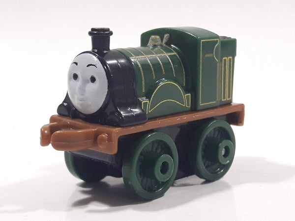 "2014 Thomas & Friends Minis Emily Dark Green 2"" Long Plastic Die Cast Toy Vehicle CGM30"