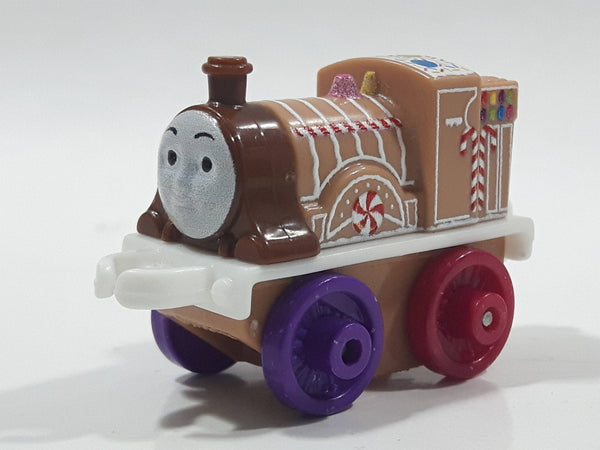 "2014 Thomas & Friends Minis Emily Gingerbread 2"" Long Plastic Die Cast Toy Vehicle CGM30"