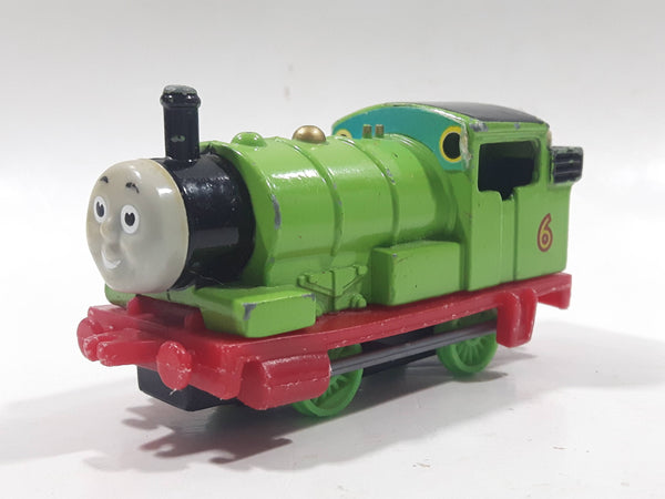 1987 ERTL Britt Allcroft Thomas The Tank Engine & Friends #6 Percy Green Train Engine Locomotive Die Cast Toy Vehicle
