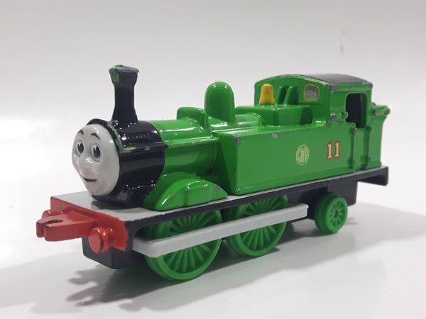 1995 ERTL Britt Allcroft Thomas The Tank Engine & Friends #11 Oliver GWR Green Train Engine Locomotive Die Cast Toy Vehicle