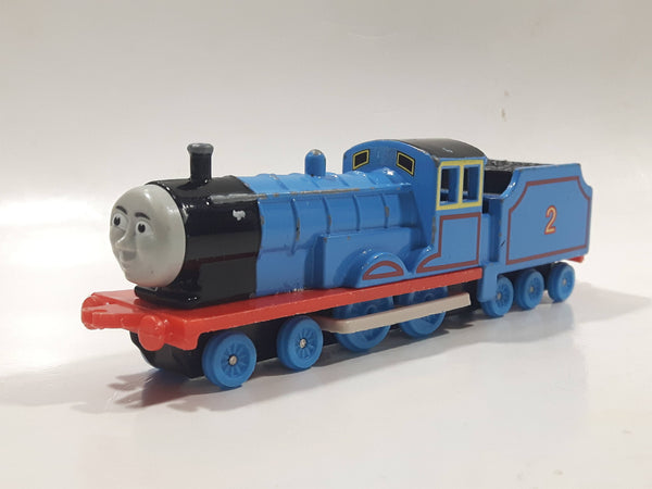 1989 ERTL Britt Allcroft Thomas The Tank Engine & Friends #2 Edward Blue Train Engine Locomotive Die Cast Toy Vehicle