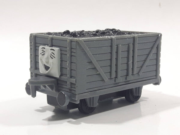 1990 ERTL Britt Allcroft Thomas The Tank Engine & Friends Troublesome Truck Grey Coal Train Car Die Cast Toy Vehicle