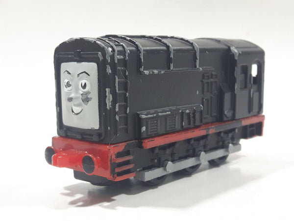 1990 ERTL Britt Allcroft Thomas The Tank Engine & Friends Diesel Black Train Engine Locomotive Die Cast Toy Vehicle