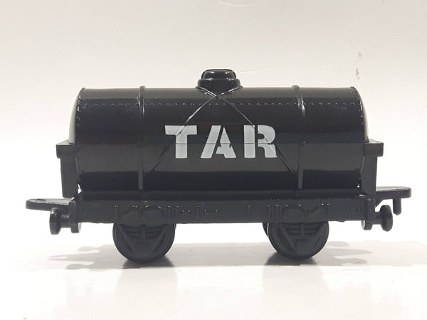 1993 ERTL Britt Allcroft Thomas The Tank Engine & Friends Tar Oil Tanker Black Train Car Plastic Toy Vehicle