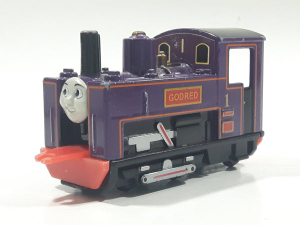 1995 ERTL Britt Allcroft Thomas The Tank Engine & Friends Godred Purple Train Engine Locomotive Car Die Cast Toy Vehicle