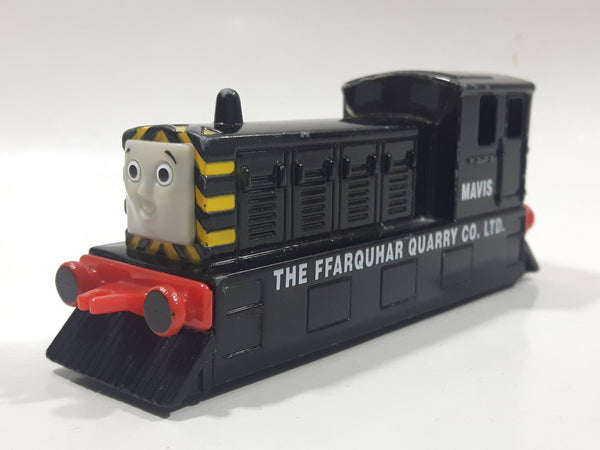 1993 ERTL Britt Allcroft Thomas & Friends Mavis The FFarquhar Quarry Co. Lt. Black Train Engine Locomotive Toy Vehicle