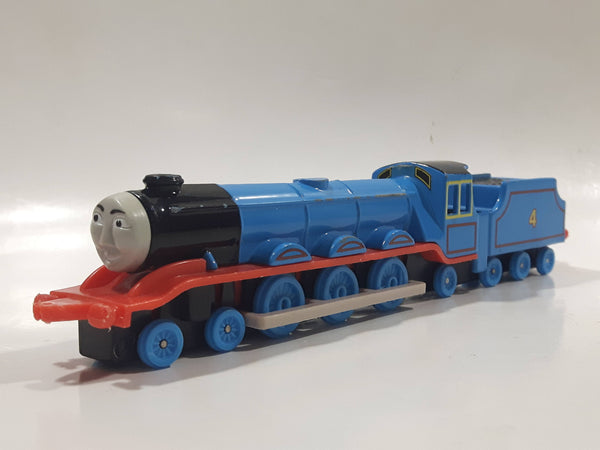 1989 ERTL Britt Allcroft Thomas The Tank Engine & Friends #4 Gordon Blue Train Engine Locomotive Die Cast Toy Vehicle