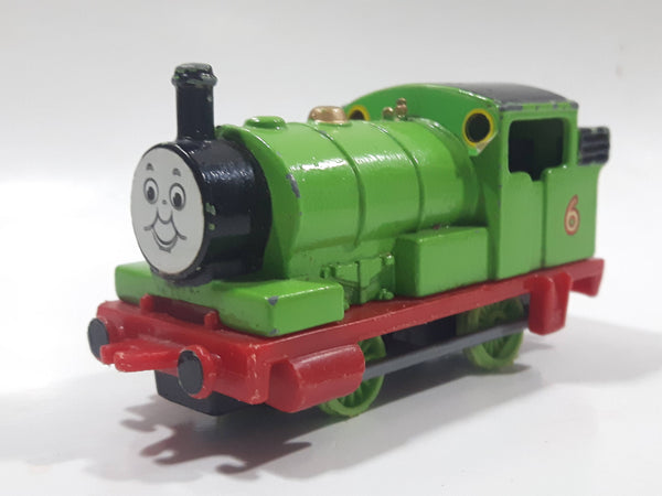 1984 ERTL Britt Allcroft Thomas The Tank Engine & Friends #6 Percy Green Train Engine Locomotive Die Cast Toy Vehicle