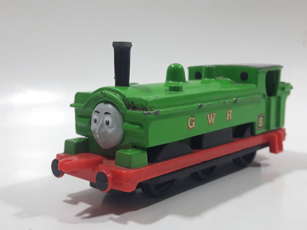 1990 ERTL Britt Allcroft Thomas The Tank Engine & Friends #8 Duck GWR Green Train Engine Locomotive Die Cast Toy Vehicle